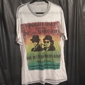 House of blues graphic t shirt size